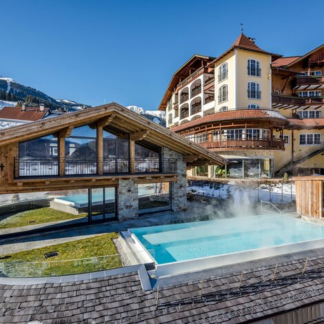 Winter Außenansicht | Best Alpine Wellness Hotel Post, Tirol