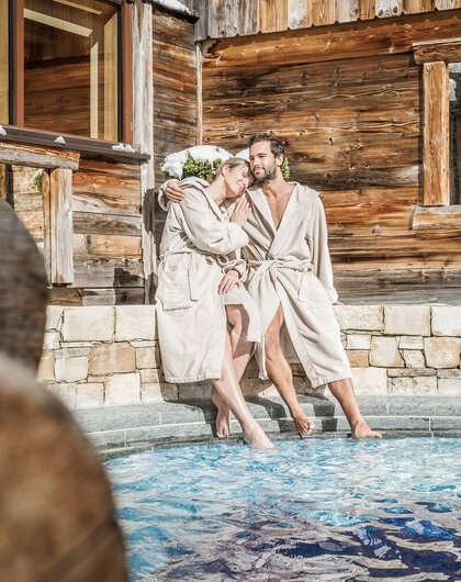 Relaxen am Pool | Wellnesshotel Stock, Zillertal
