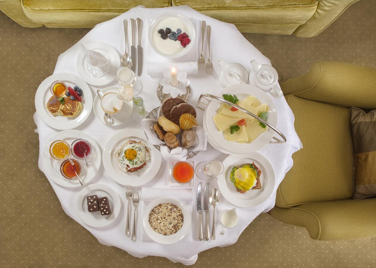 Large Breakfast Selection | 5 Star Superior Wellnesshotel Alpenpalace, South Tyrol