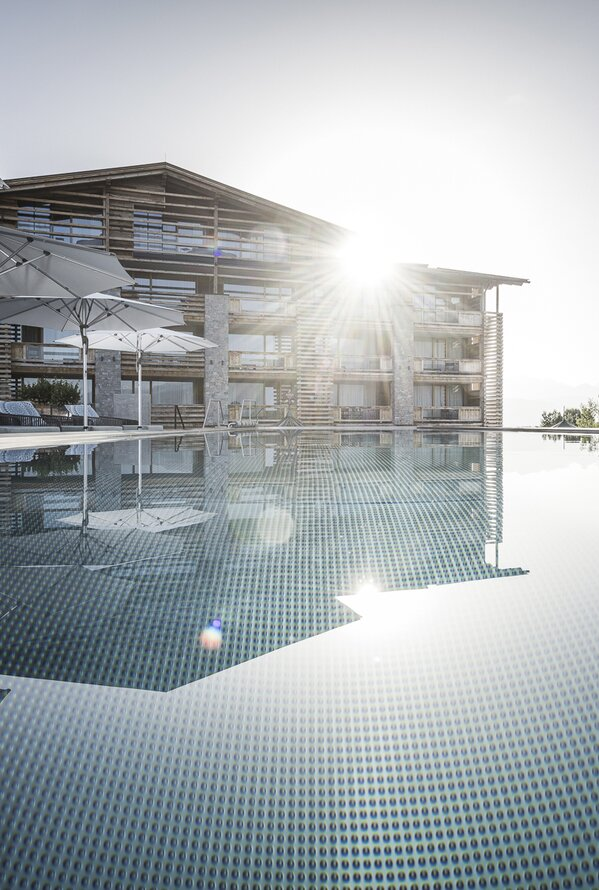 Outdoorpool | Alpenresort Schwarz, Mieming