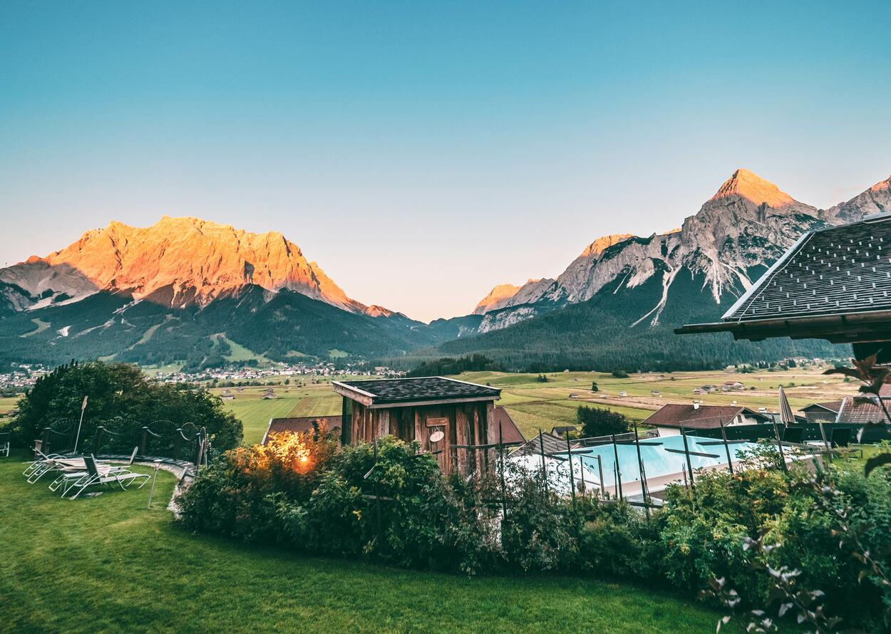 Garden Mountain View | Wellnesshotel Post, Tyrol, Austria