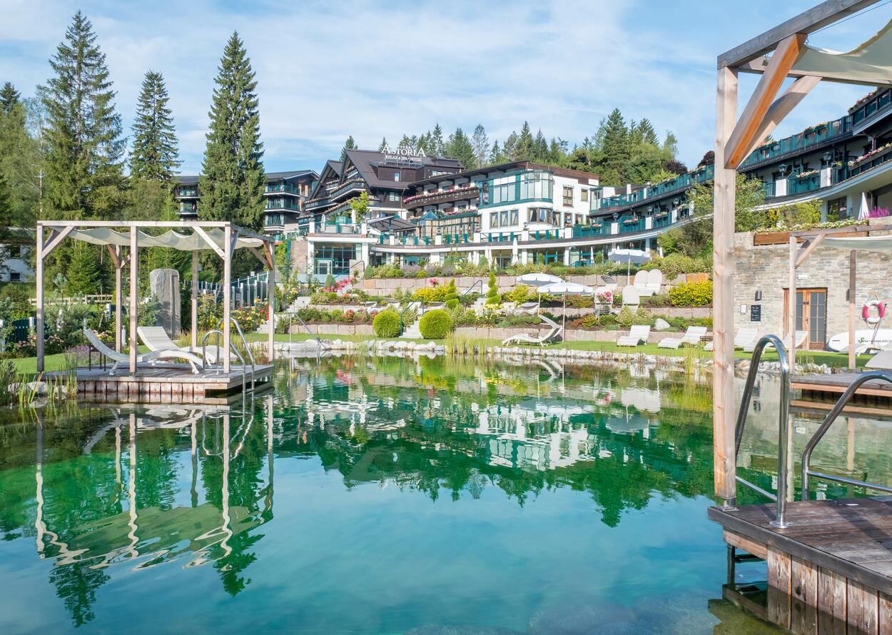 Naturbadesee | Best Alpine Wellnesshotel Astoria, Tirol