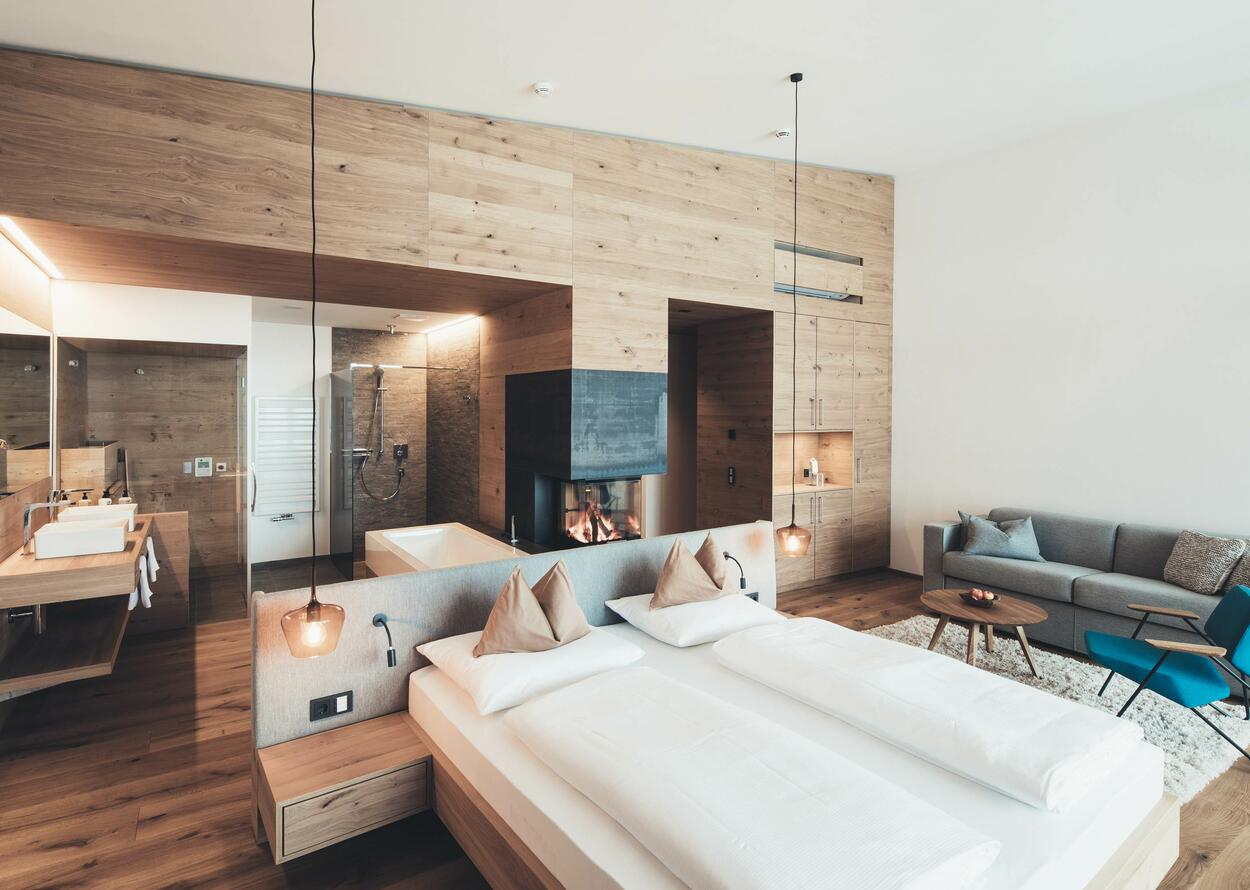 Double Room with wooden Facade | 4 Star Superior Hotel Nesslerhof, Austria