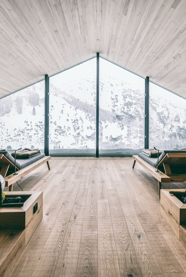Panoramaruheraum | Best Alpine Wellnesshotel Warther Hof, Arlberg